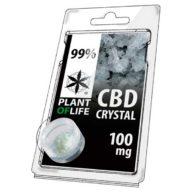 Plant Of Life cristales de CBD 100mg 99% pureza | Plant Of Life