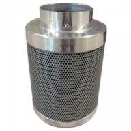 Filtrokoa 125x500mm (650 m3/h) filtro carbón antiolor en linea | Koalair