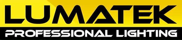 Logotipo de la marca de iluminación Lumatek