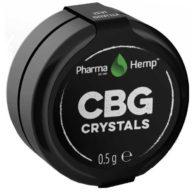 PharmaHemp Pure CBG Crystals cristales puros de CBG 97% 0,5g | PharmaHemp