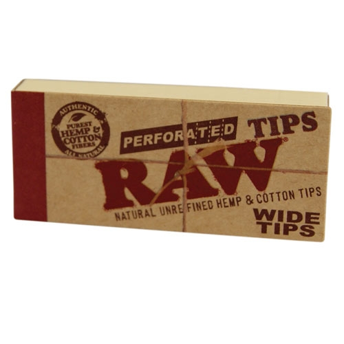 RAW Tips Organic Perforated Wide