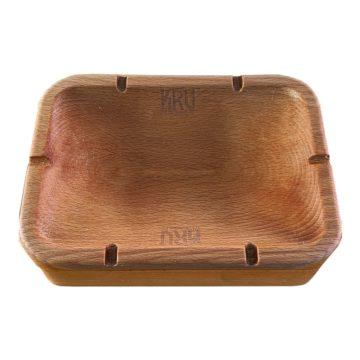 Ashtray Stash Box Caja Madera Kru 01 01