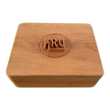 Gold Box Caja Madera Fumador Kru 01