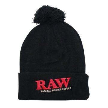 Gorro Negro Raw 01