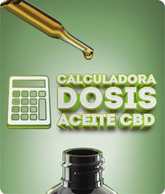 Calculadora dosis aceite CBD